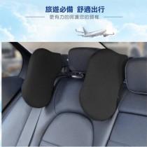 【出清福利品】車用側睡枕 舒適可調節  車內睡眠頭枕 旅行汽車頭枕可任意旋轉車用頭靠 車載護頸枕