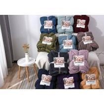 最新款兩面同色羊羔絨棉被 觸感舒適 柔軟細緻 保暖性佳 十分透氣