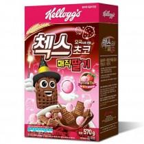 農心家樂氏_草莓巧克力球脆格格五穀麥片(570g)