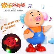 跳舞海草豬 炫光舞蹈 會跳舞的豬 抖音同款海草豬 搖擺豬 逗娃神器 寶寶玩具豬 電動燈光音樂 兒童玩具 聖誕禮物 交換禮物 生日禮物