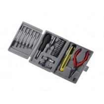 24件套工具組合 工具箱耐壓耐磨收納方便 多功能手把大小螺絲刀