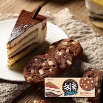 (1盒10入)LOTTE厚醬巧克力曲奇餅乾(提拉米蘇脆片)  甜點控必吃 下午茶新選擇