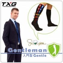 TXG 男用紳士減壓襪-入門型