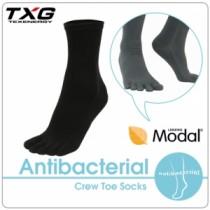 TXG 長效性抗菌除臭中筒五趾襪 (3雙入)