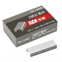 SDI釘書針1204(24/6)/3號針/1000支/盒/10盒/組