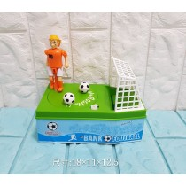 足球存錢筒 日本足球動感射門存錢筒生日聖誕節新年交換 兒童玩具