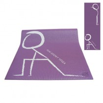 《Fun Sport》快樂操伸展瑜珈墊(氣質紫)束帶(PER環保材質)
