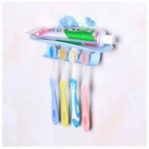 48小時 降價 買一送一無痕牙刷架 浴室置物架 無痕牙刷架 浴室用品 無痕貼 浴室收納 牙刷架