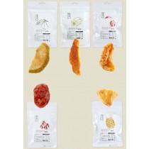 〈即期品〉(3包一組)【農明麗】節氣農產果乾 (芭樂乾、橘子乾、楊桃乾、鳳梨乾、番茄乾)