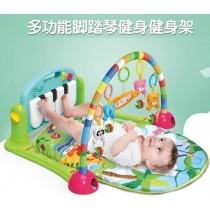 腳踏鋼琴健身架遊戲毯 多功能加厚款~多功能聲光健力架~寶寶音樂遊戲毯