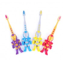 兒童軟毛牙刷 護齦潔齒牙刷送玩具 刷牙蛀牙保健