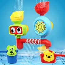 48小時快速出貨/ 浴室轉轉樂 洗澡玩具 戲水玩具 浴室玩具 花灑 流水