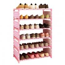 48小時快速出貨/ 六層鞋櫃萬物收納櫃 穩固收納鞋櫃 三色