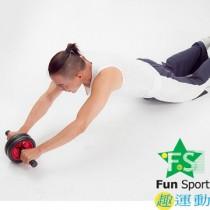 《Fun Sport》勁活急煞風火健腹輪(送跪墊一個)