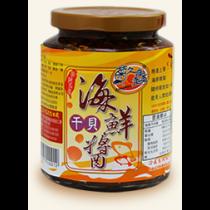【菊之鱻】 海鮮干貝醬 450g