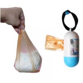 膠囊型隨身垃圾袋 尿布 膠囊垃圾袋 旅行 遛狗 狗狗大小便