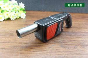 架肉 手持電動 強力鼓風機 便攜式 槍型 無線 烤肉神器