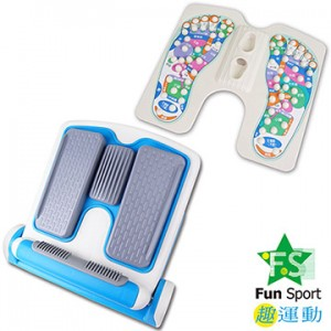 《Fun Sport》足亦樂按摩拉筋板(豪華雙配)(內外八調整+穴道版)