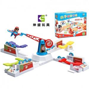 桌面互動益智玩具 老鷹抓小雞遊戲 親子益智遊戲組